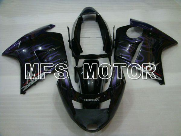 Honda CBR1100XX 1996-2007 Injection ABS Fairing - Flame - Black Purple - MFS3246