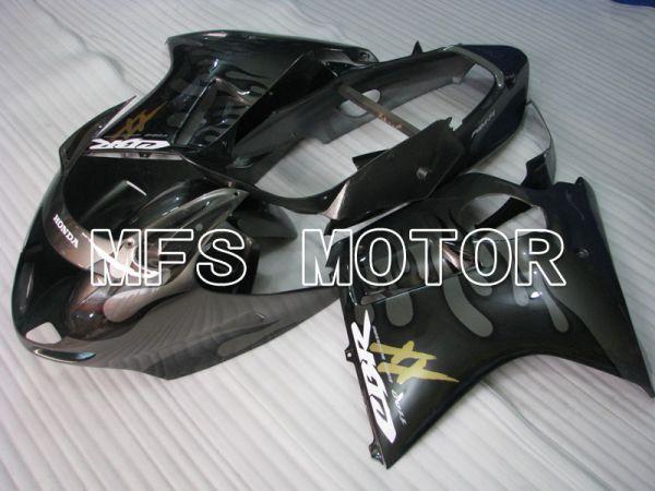 Honda CBR1100XX 1996-2007 Injection ABS Fairing - Flame - Black Gray - MFS3248