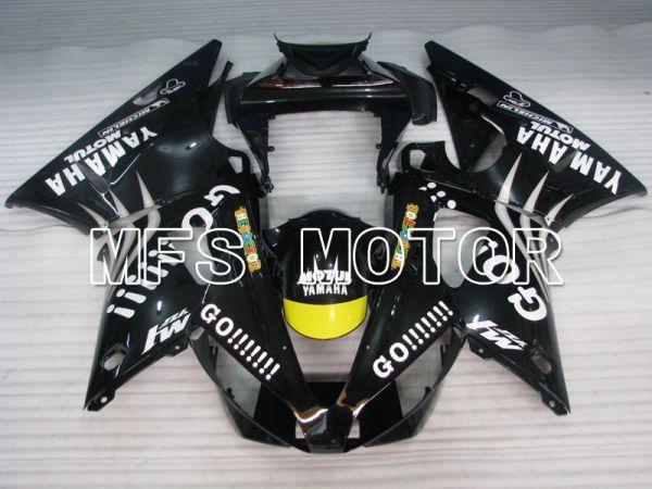 Yamaha YZF-R1 2000-2001 Injection ABS Fairing - GO!!!!!!! - Black - MFS3269