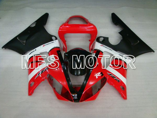 Yamaha YZF-R1 2000-2001 Injection ABS Fairing - Factory Style - Black Red - MFS3271