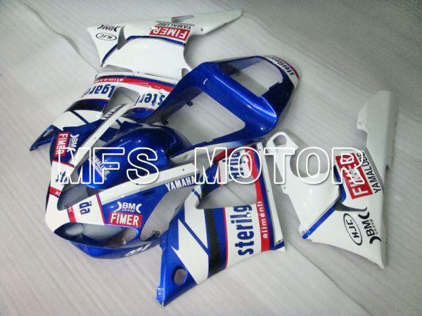 Yamaha YZF-R1 2000-2001 Injection ABS Fairing - Sterilgarda - Blue White - MFS3272