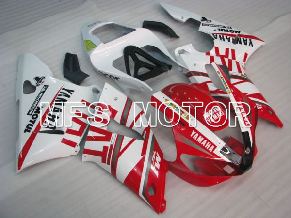 Yamaha YZF-R1 2000-2001 Injection ABS Fairing - FIAT - Red White - MFS3277