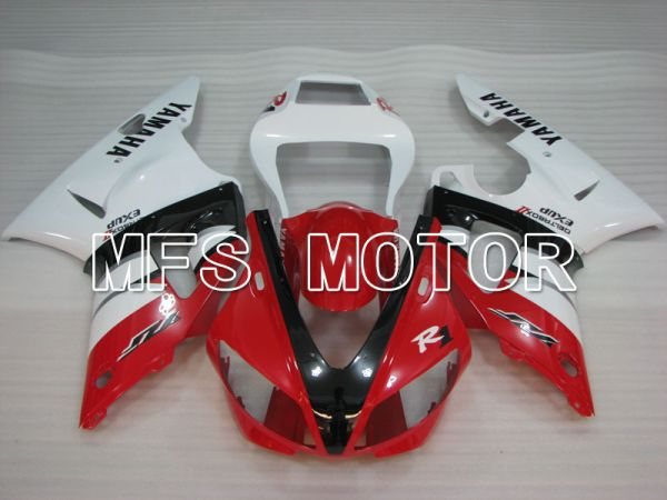 Yamaha YZF-R1 2000-2001 Injection ABS Fairing - Factory Style - Red White - MFS3287