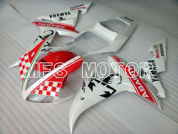 Yamaha YZF-R1 2002-2003 Injection ABS Fairing - ABARTH - Red White - MFS3293