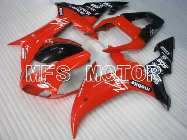 Yamaha YZF-R1 2002-2003 Injection ABS Fairing - Others - Black Red - MFS3294
