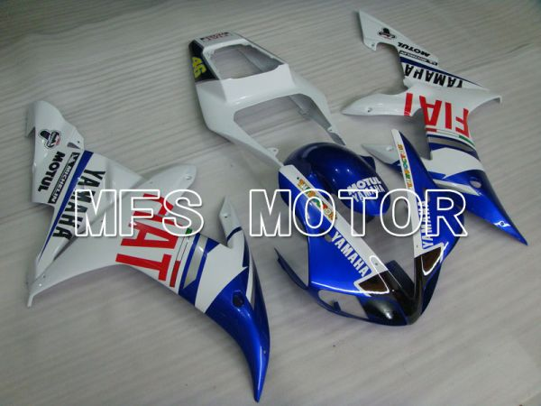 Yamaha YZF-R1 2002-2003 Injection ABS Fairing - FIAT - Blue White - MFS3295