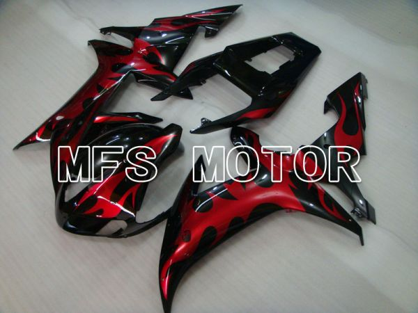 Yamaha YZF-R1 2002-2003 Injection ABS Fairing - Others - Black Red - MFS3296