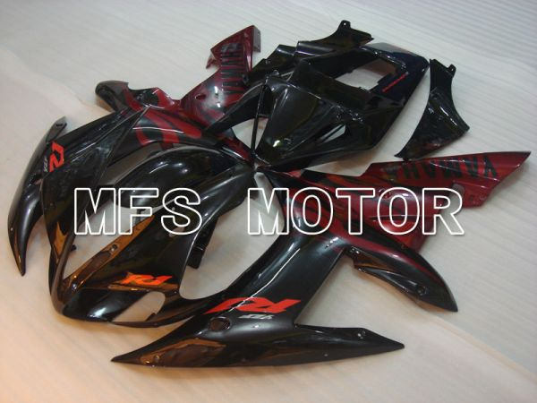 Yamaha YZF-R1 2002-2003 Injection ABS Fairing - Factory Style - Black Red - MFS3297
