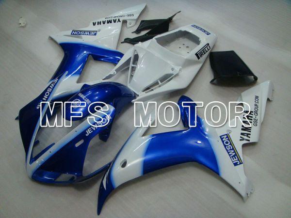 Yamaha YZF-R1 2002-2003 Injection ABS Fairing - JEWSON - Blue White - MFS3298