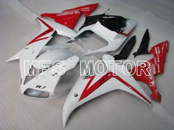 Yamaha YZF-R1 2002-2003 Injection ABS Fairing - Factory Style - Red White - MFS3300