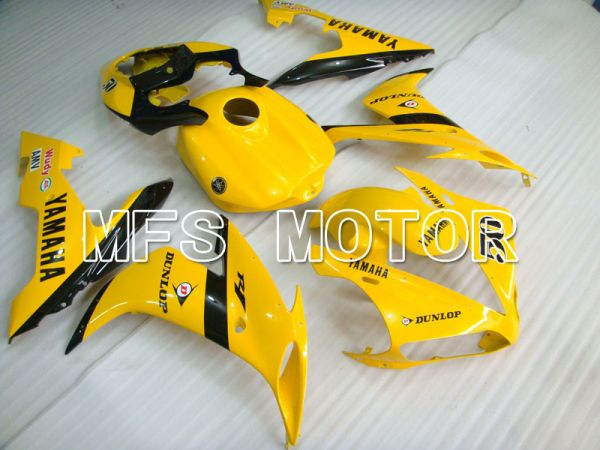 Yamaha YZF-R1 2004-2006 Injection ABS Fairing - Factory Style - Yellow - MFS3302