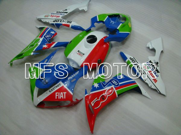 Yamaha YZF-R1 2004-2006 Injection ABS Fairing - FIAT - Blue Green Red White - MFS3304