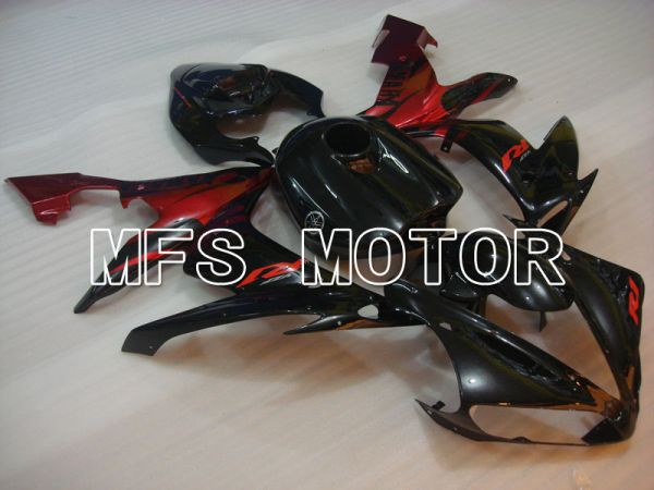 Yamaha YZF-R1 2004-2006 Injection ABS Fairing - Factory Style - Black Red - MFS3308