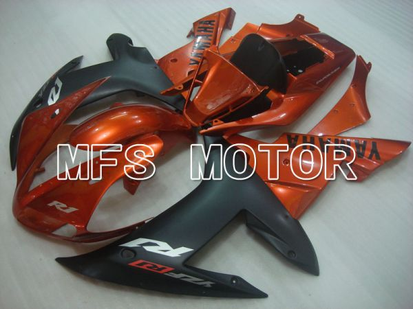 Yamaha YZF-R1 2002-2003 Injection ABS Fairing - Factory Style - Black Orange - MFS3309