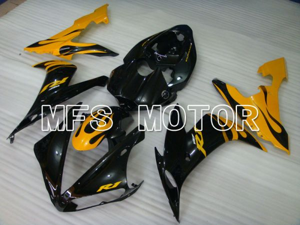 Yamaha YZF-R1 2004-2006 Injection ABS Fairing - Factory Style - Black Yellow - MFS3310