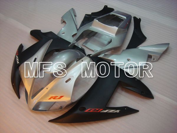Yamaha YZF-R1 2002-2003 Injection ABS Fairing - Factory Style - Black Silver Matte - MFS3311