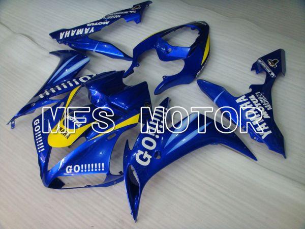 Yamaha YZF-R1 2004-2006 Injection ABS Fairing - GO!!!!!!! - Blue - MFS3312