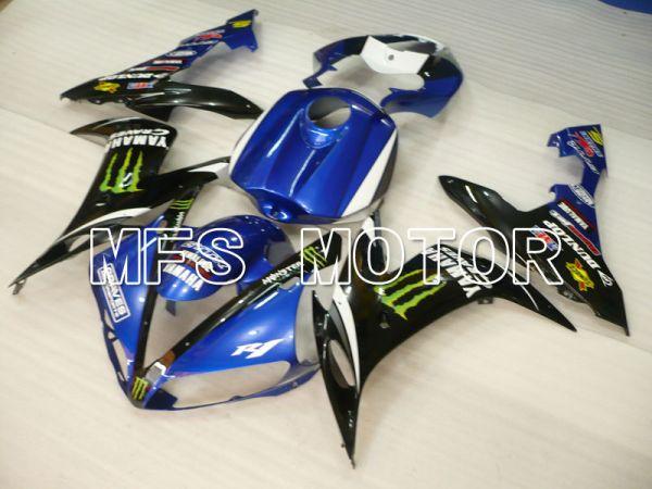 Yamaha YZF-R1 2004-2006 Injection ABS Fairing - Monster - Black Blue - MFS3313