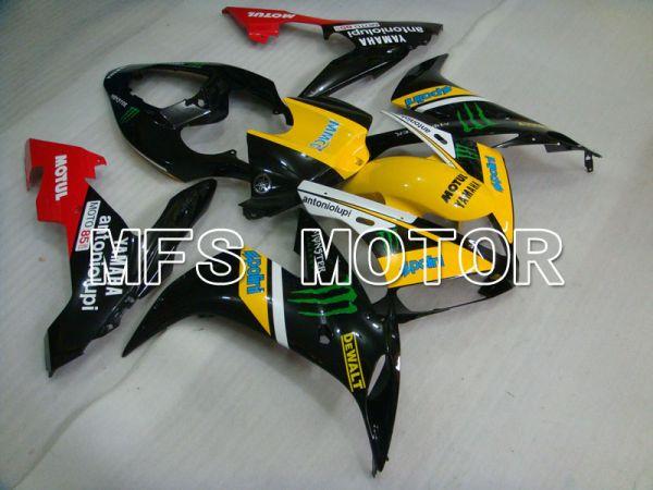 Yamaha YZF-R1 2004-2006 Injection ABS Fairing - Monster - Black Yellow - MFS3314