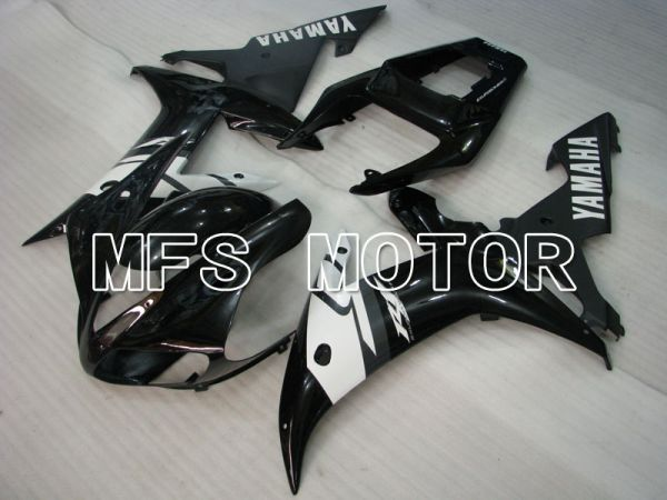 Yamaha YZF-R1 2002-2003 Injection ABS Fairing - Factory Style - Black White - MFS3315