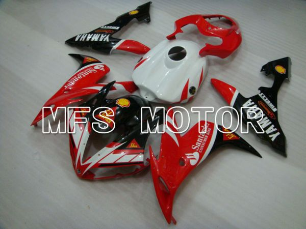 Yamaha YZF-R1 2004-2006 Injection ABS Fairing - Santander - Red White - MFS3327