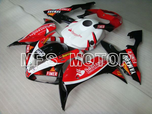 Yamaha YZF-R1 2004-2006 Injection ABS Fairing - Santander - Red White - MFS3329