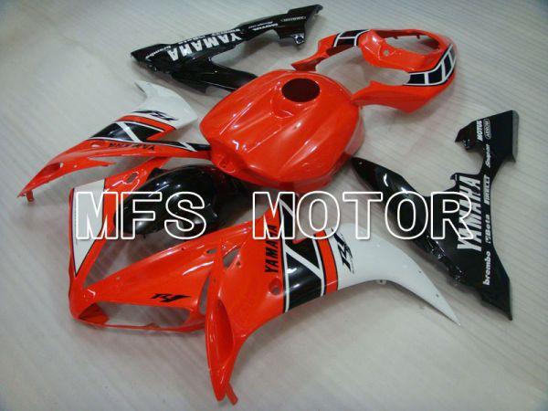Yamaha YZF-R1 2004-2006 Injection ABS Fairing - Factory Style - Black Orange - MFS3334
