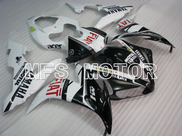 Yamaha YZF-R1 2004-2006 Injection ABS Fairing - FIAT - Black White - MFS3340