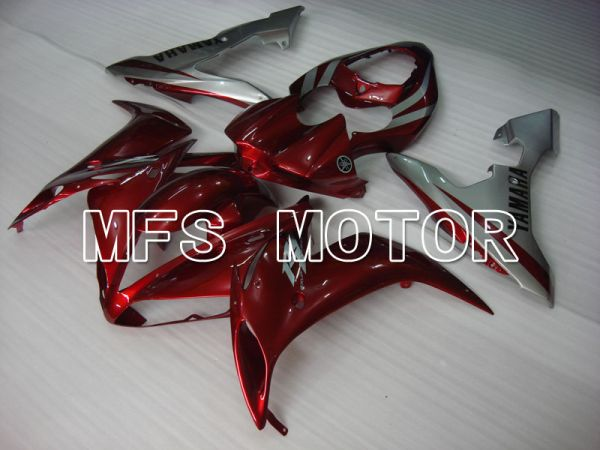 Yamaha YZF-R1 2004-2006 Injection ABS Fairing - Factory Style - Silver Red wine color - MFS3350