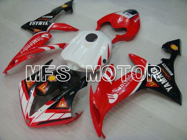 Yamaha YZF-R1 2004-2006 Injection ABS Fairing - Santander - Black Red  White - MFS3353
