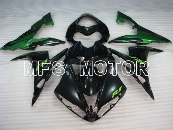 Yamaha YZF-R1 2004-2006 Injection ABS Fairing - Factory Style - Green Black - MFS3355