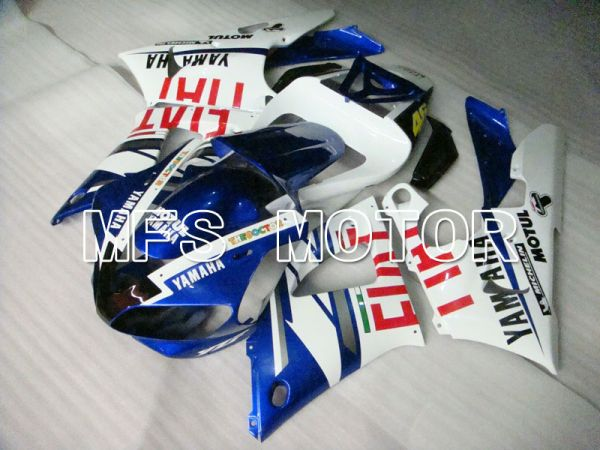 Yamaha YZF-R1 1998-1999 Injection ABS Fairing - FIAT - Blue White - MFS3356