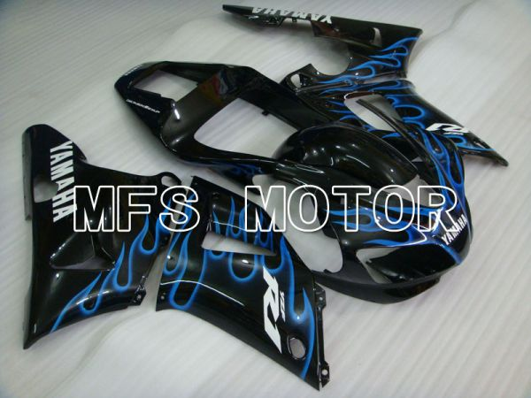 Yamaha YZF-R1 1998-1999 Injection ABS Fairing - Flame - Black Blue - MFS3360