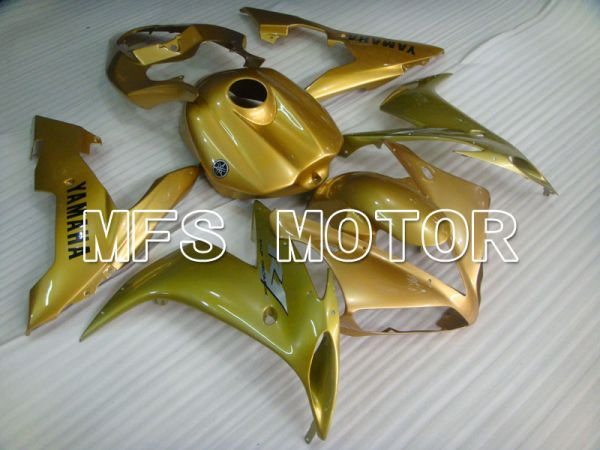 Yamaha YZF-R1 2004-2006 Injection ABS Fairing - Factory Style - Gold - MFS3367