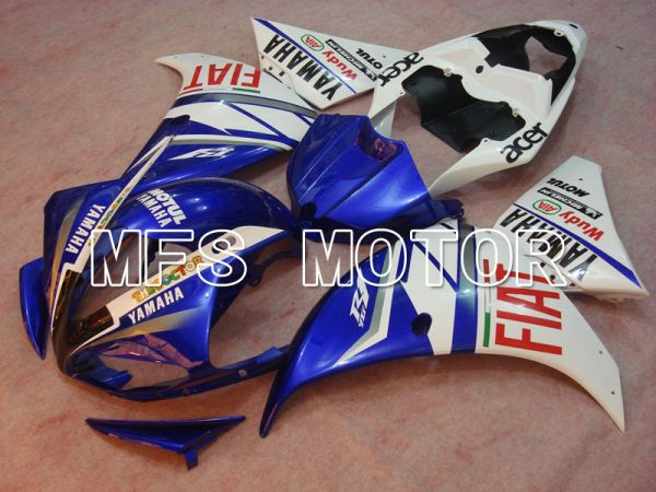 Yamaha YZF-R1 2009-2011 Injection ABS Fairing - FIAT - Blue White - MFS3371