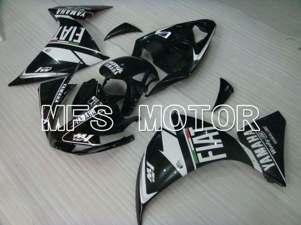 Yamaha YZF-R1 2009-2011 Injection ABS Fairing - FIAT - Black White - MFS3377
