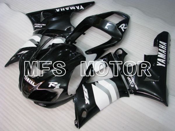Yamaha YZF-R1 1998-1999 Injection ABS Fairing - Factory Style - Black - MFS3379