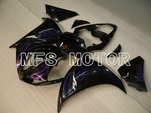 Yamaha YZF-R1 2009-2011 Injection ABS Fairing - Flame - Black Purple - MFS3384