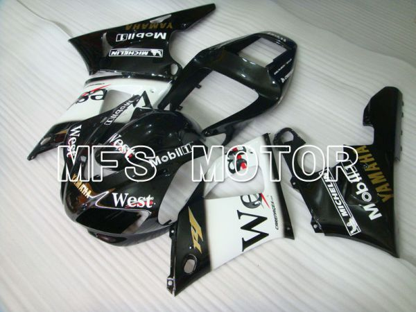 Yamaha YZF-R1 1998-1999 Injection ABS Fairing - West - Black - MFS3385