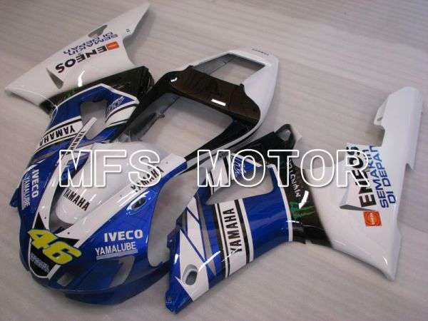 Yamaha YZF-R1 1998-1999 Injection ABS Fairing - ENEOS - Blue White - MFS3387