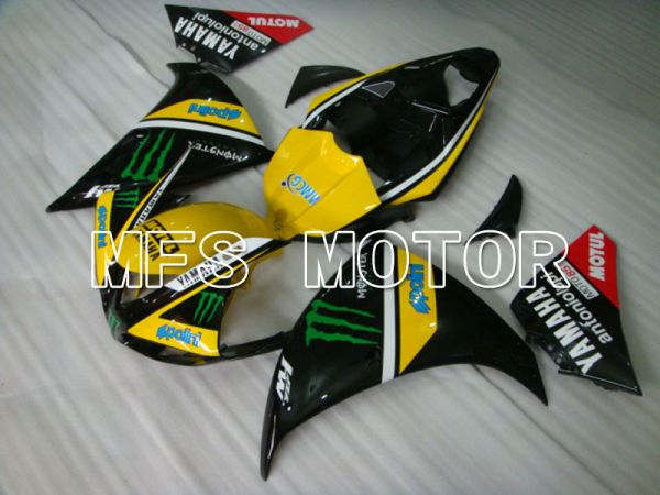 Yamaha YZF-R1 2009-2011 Injection ABS Fairing - Monster - Black Yellow - MFS3388