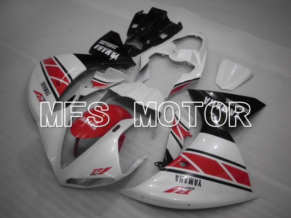 Yamaha YZF-R1 2009-2011 Injection ABS Fairing - Factory Style - Black White - MFS3393