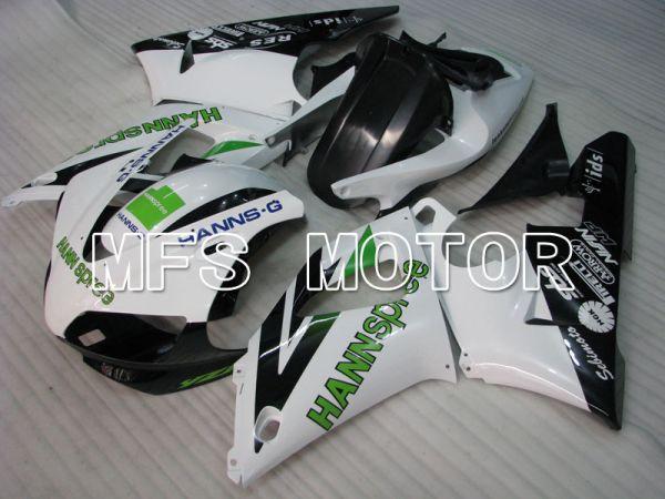 Yamaha YZF-R1 1998-1999 Injection ABS Fairing - HANN Spree - Black White - MFS3397