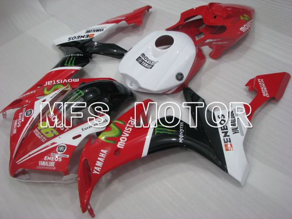 Yamaha YZF-R1 2004-2006 Injection ABS Fairing - Monster - Black Red  White - MFS3400