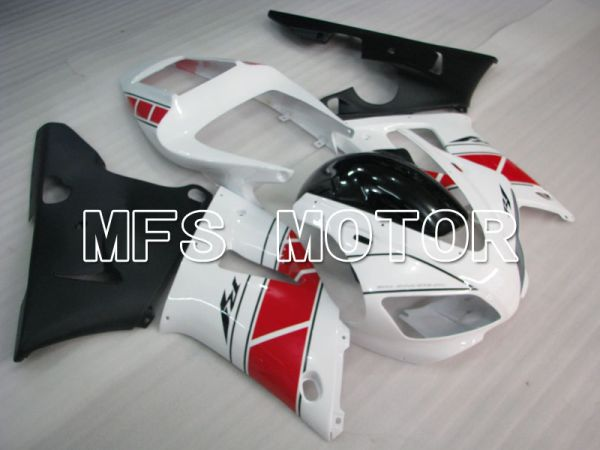 Yamaha YZF-R1 1998-1999 Injection ABS Fairing - Factory Style - Black White - MFS3401