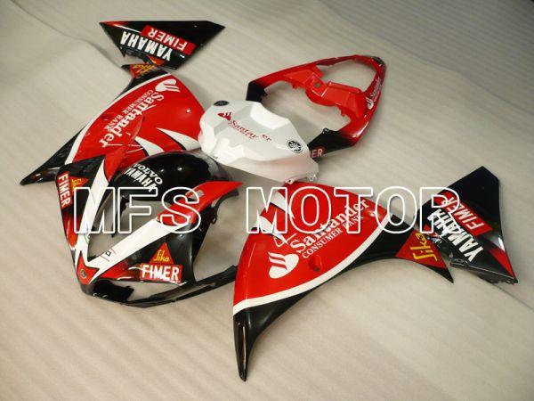 Yamaha YZF-R1 2009-2011 Injection ABS Fairing - Santander - Black Red - MFS3404