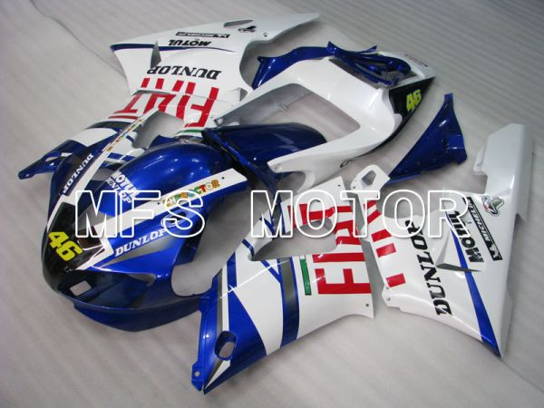 Yamaha YZF-R1 1998-1999 Injection ABS Fairing - FIAT - Blue White - MFS3407