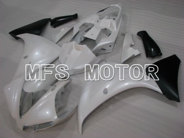 Yamaha YZF-R1 2009-2011 Injection ABS Fairing - Factory Style - Black Pearl White - MFS3408