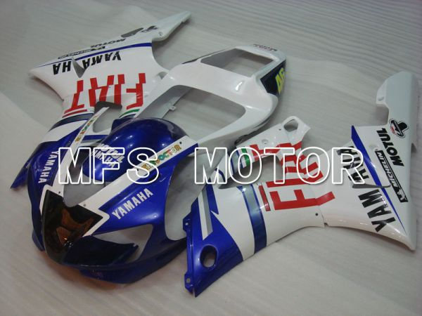 Yamaha YZF-R1 1998-1999 Injection ABS Fairing - FIAT - Blue White - MFS3409