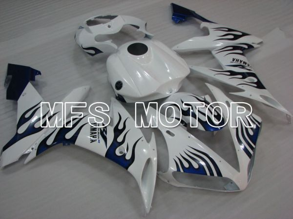 Yamaha YZF-R1 2004-2006 Injection ABS Fairing - Flame - Blue White - MFS3410